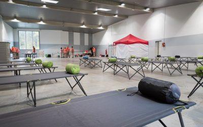 Entraînement des « urgentistes » de la Croix-Rouge française